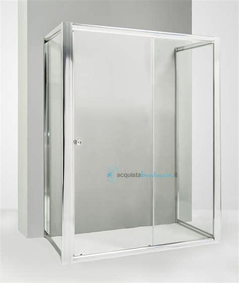 box doccia 3 lati 70x100x70 box doccia 3 lati con 2 ante fisse e porta scorrevole