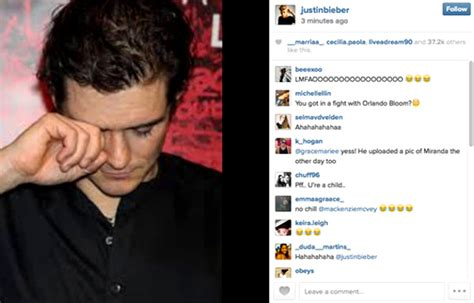 Ignorant Of The Day Orlando Bloom by Justin Bieber S Most Controversial Moments