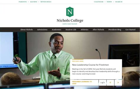 Nichols College Mba Program by Nichols College Unmatched Style