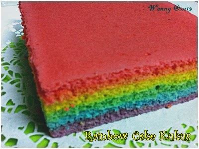 Loyang Lapis 22 X 8 from my kitchen rainbow cake kukus a k a bolu kukus mambo