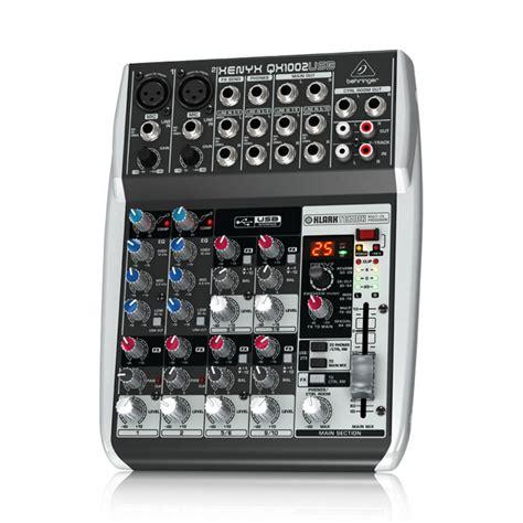 Mixer Behringer Xenyx Qx1002usb behringer xenyx qx1002usb mixer 2 mono input 2 w kt fx usb