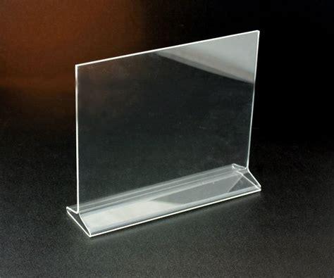 acrylic stand acrylic landscape tent sign display holder stand shelf buy tent sign holder menu holder