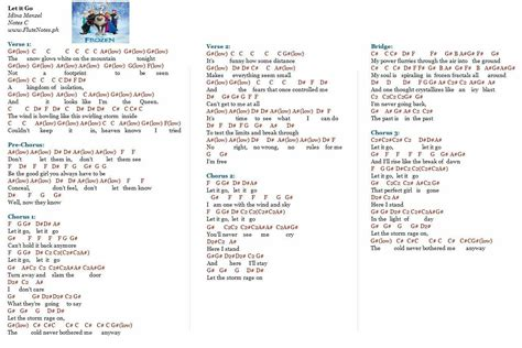 demi lovato havana lyrics let it go idina menzel demi lovato notes music