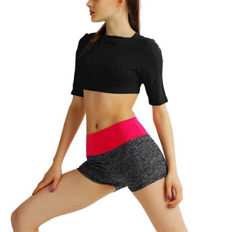 Sports Sleeve Top sport bra crop top summer sleeve