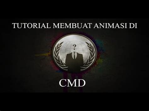 tutorial animasi flash keren tutorial membuat animasi di cmd keren youtube
