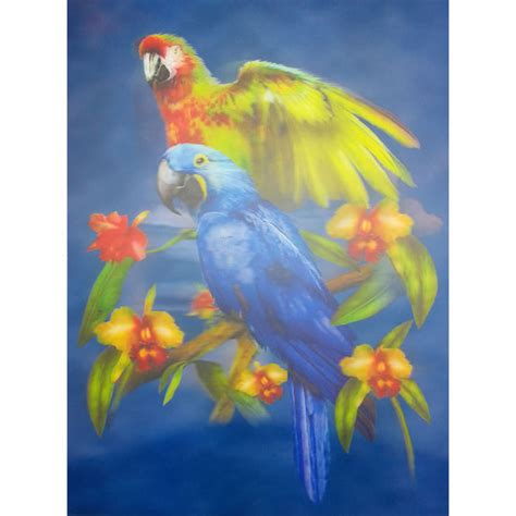 unicorn lenticular 3d picture animal poster painting home parrot lenticular 3d picture animal poster painting home