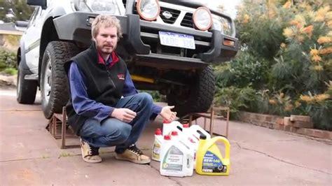 backyard mechanic backyard mechanic 03 servicing patrol diffs gearbox