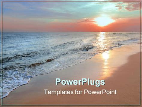 download free powerpoint template beach gamerarena ru