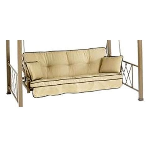 futon cushion replacement verrado folian futon swing replacement cushion garden winds