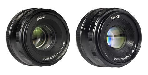 Lensa Sony Mirrorless Murah meike mengumumkan lensa murah untuk kamera mirrorless