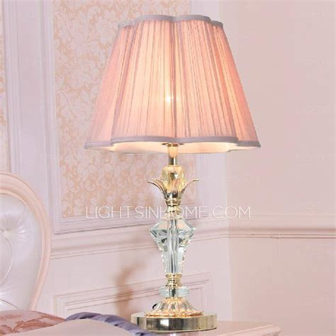 Crystal And Gold Chandelier Pink Bedroom Lamp