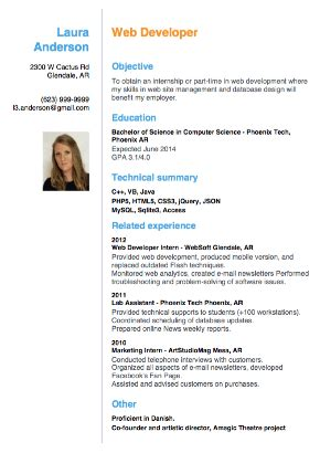 Curriculum Vitae Sample Format Doc by Sample Of A Beginner S Cv Resume Cv Cover Letter