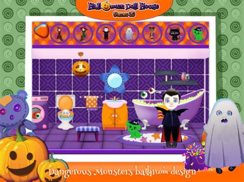 halloween home design games doll house decorating games my new room 2 dollhouse