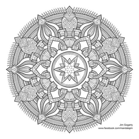 mandala coloring book buy black and white on mandala deviantart