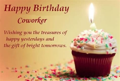 Happy Birthday Wishes For A Coworker Happy Birthday Coworker Wishing You