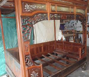 Vintage Canopy Bed For Sale Antique Asian Furniture Canopy Bed From Southern China