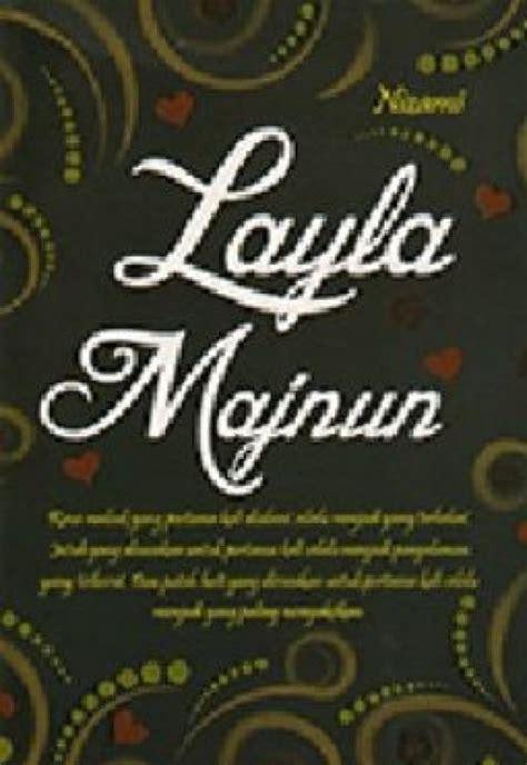 Novel Indonesia Laila Majnun bukukita layla majnun cover warna hitam