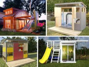 Backyard Play Structure Plans Playhouse Wonders 11 Insane Over The Top Clubhouse