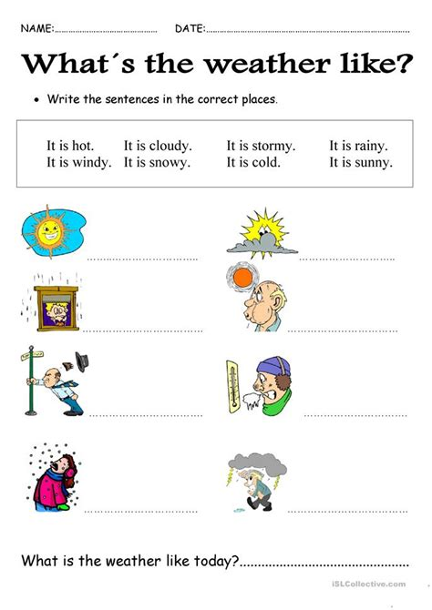 Weather Worksheets by 28 Free Weather Worksheets Elementary Quot What S