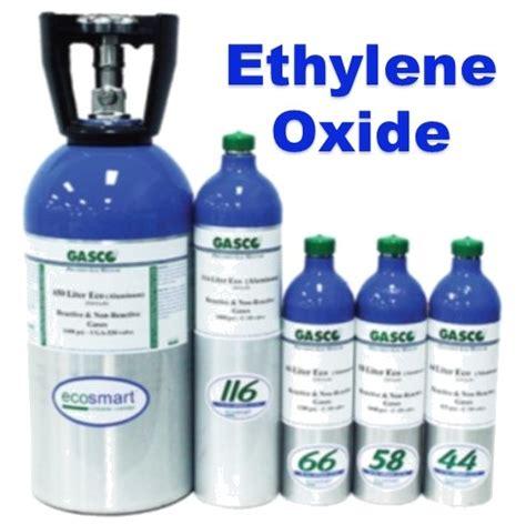 Gas Ethylene Oxide gasco ethylene oxide calibration gas for gas detector