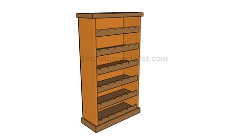 X Wine Rack Plans by Wooden Wine Rack Plans Howtospecialist How To Build Step By Step Diy Plans