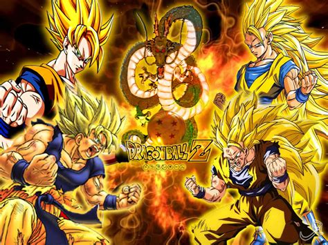 dragon ball z wallpaper portrait dragon ball z anime son goku all evolution super seiya