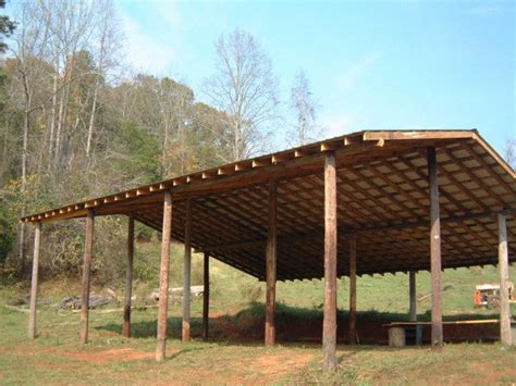 Diy Pole Shed by How To Build An Inexpensive Pole Barn Http Www