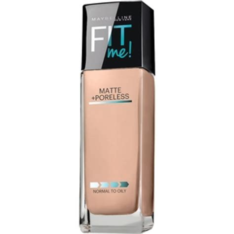 Foundation Maybelline Indonesia maybelline fit me matte poreless foundation