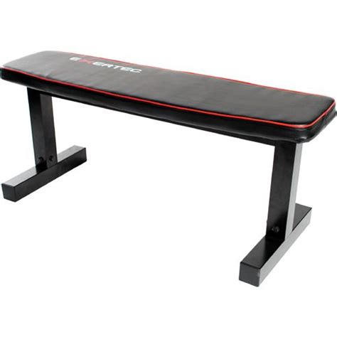 flat weights bench exertec 174 flat weight bench academy
