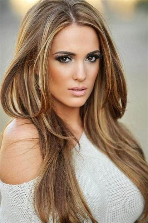 light brown hair with highlights and lowlights