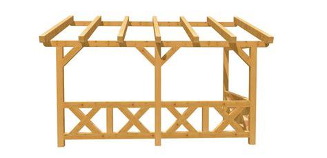 Pergola Selbst Bauen by Wand Pergola Selber Bauen Holz Bauplan De