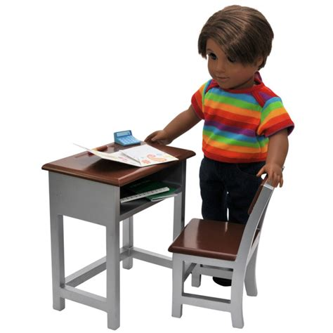 18 inch doll desk 18 inch doll furniture modern school desk accessories the doll boutique