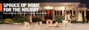 the home depot decorations outdoor christmas decorations inflatables