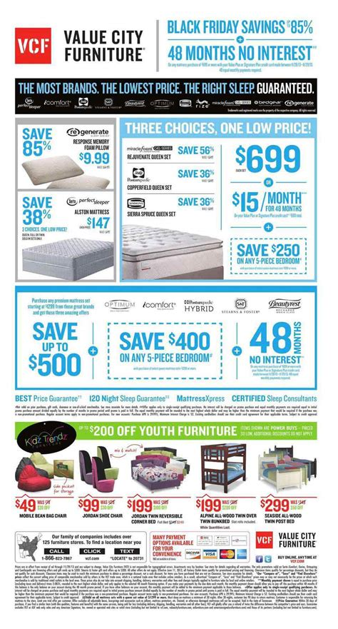 Value City by Value City Black Friday 2013 Ad Find The Best Value City