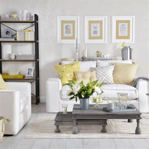pale yellow decorating pale grey and lemon yellow living room grey and yellow