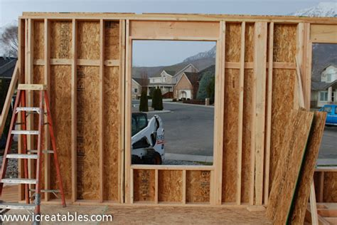 Patio Doors For 2x6 Walls Nail Cripple To King Framing A Mirror With Stock Molding