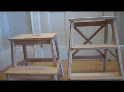 ikea bekvam step ladder ikea bekv 196 m stepladder vs step stool youtube