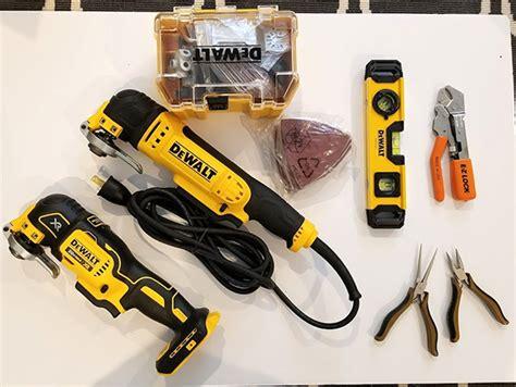 Blog Giveaway Tool - toolguyd cleanup giveaway 4 dewalt oscillating multi tools extras