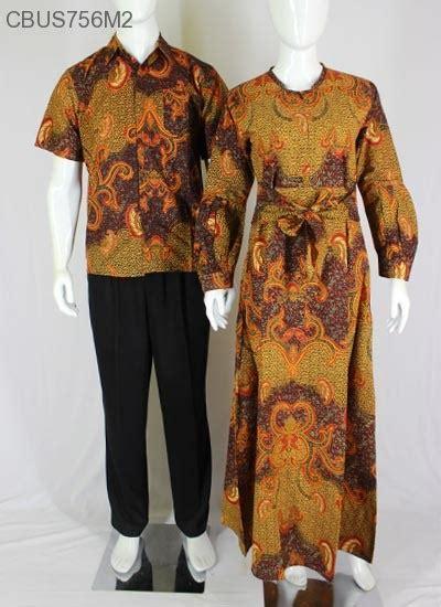 Batik Pramita Set Model Klok baju batik gamis klok motif daun kemeja lengan