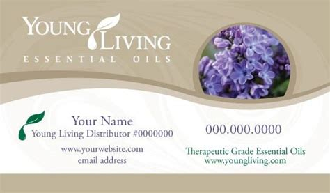 young living business cards style 2 kz swag shop