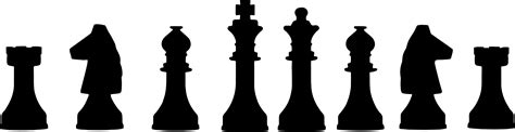 chess clipart clipart chess pieces lineup