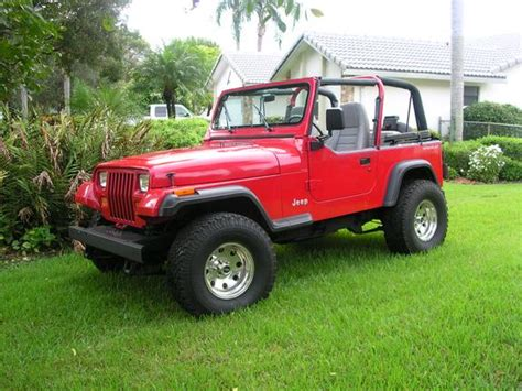 Lifted 94 Jeep Wrangler Jeep101 S 1994 Jeep Wrangler In Coral Springs Fl