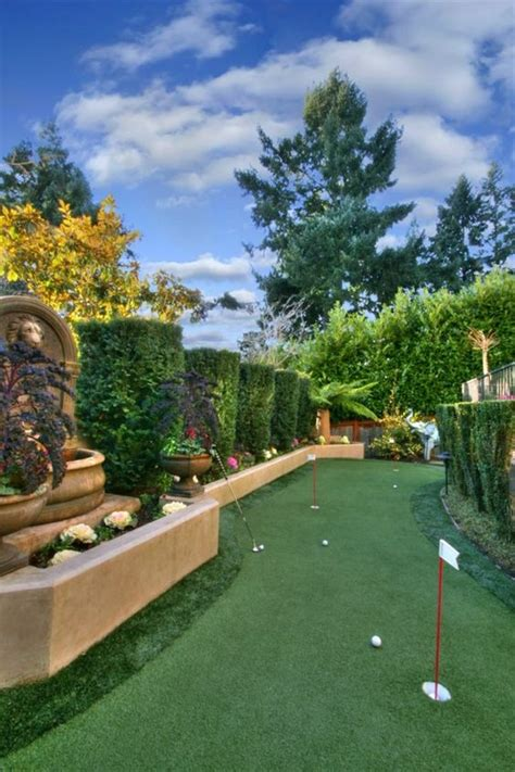 How To Build A Putting Green In Backyard by Read More Entertainment And Landscapes On