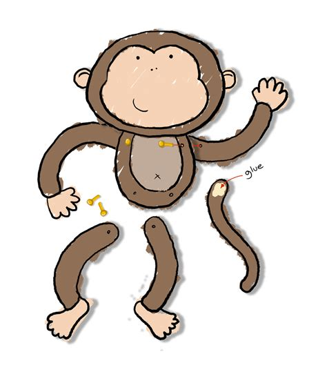 monkey craft for monkey craft crafts monkey crafts