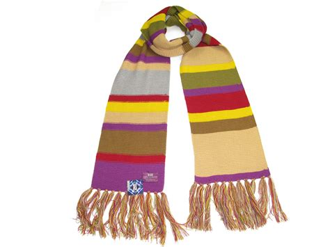 official 4th doctor replica scarf dr who tom baker