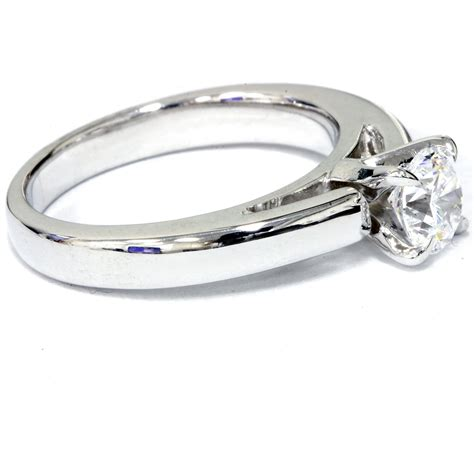 1ct cut solitaire cathedral enhanced