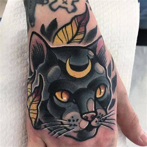 tattoo hand cat 951 best cat tattoos images on pinterest cat tattoos