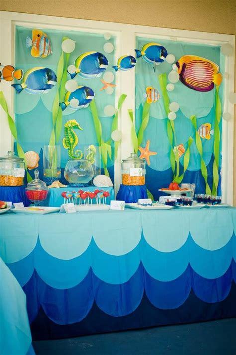 the sea theme decorations the sea water via kara s ideas kara