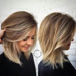 hairstyles and color 90 sensational medium length haircuts for thick hair in 2017