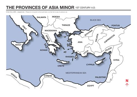 asia minor map map of asia minor provinces visual unit